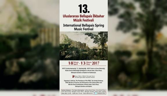 Bellapais müzik festivali başlıyor