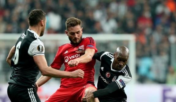 Beşiktaş UEFA Avrupa Ligi'ne veda etti!.