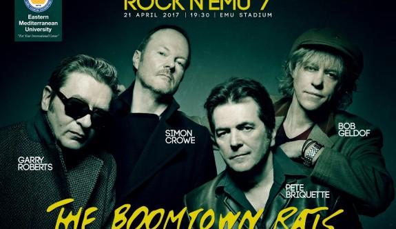 Bob Geldof ve grubu The Boomtown Rats DAÜ'de konser verecek