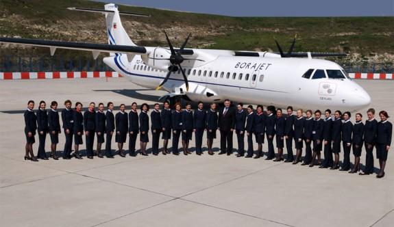 Borajet uçuşlarına ara verdi 400 kişiyi işten çıkarıyor!