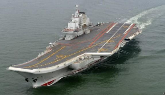 Çin uçak gemisi yaptı