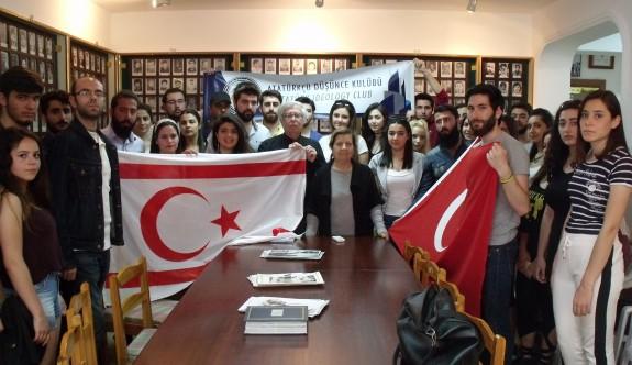 DAÜ Atatürkçü Düşünce Kulübü'nden anlamlı ziyaret
