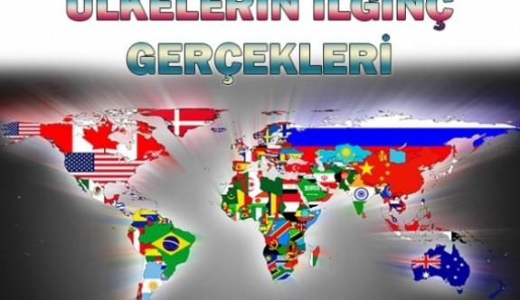 Dünya Ülkeleri Hakkında 30 İlgi Çekici Gerçek