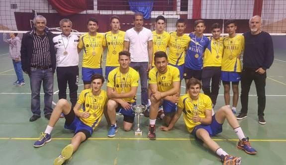 Erenköy'ün genç şampiyonları
