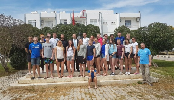 Estonyalı atletler, ülkemizde kamp yapıyor
