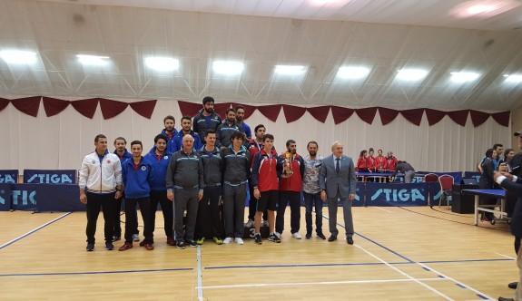 GAÜ Erkek Masa Tenisi takımı 3. oldu