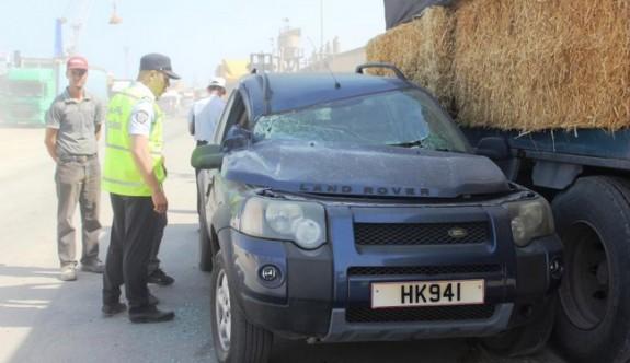 Mağusa Limanı'nda İlginç Kaza
