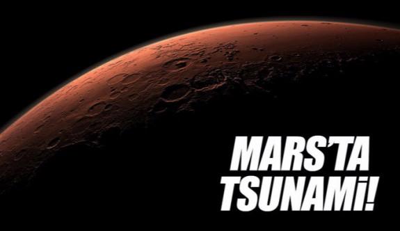 Mars'ta tsunami sonucu oluşan krater bulundu!