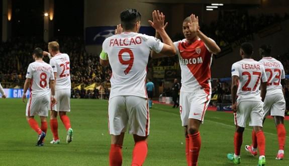 Monaco adını yarı finale yazdırdı