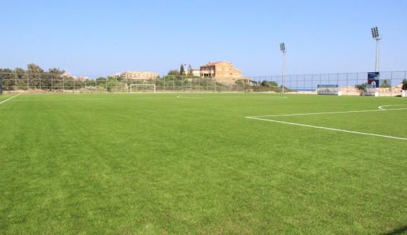 Orhan Dural Stadı hizmete giriyor