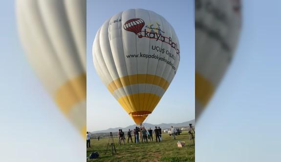 Sıcak hava balonları Lefkoşa'da havalandı