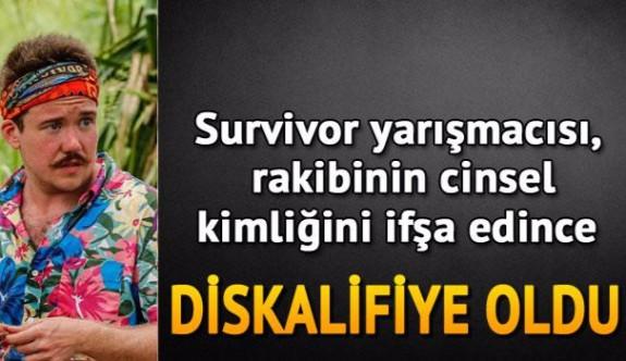 Survivor yarışmacısı, rakibinin cinsel kimliğini ifşa edince diskalifiye oldu