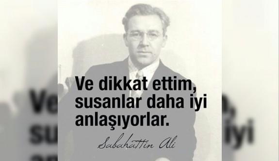 Susturulan yazar, Sabahattin Ali