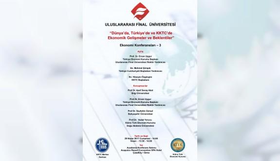 UFÜ'de ekonomik gelişmeler konferansı düzenleniyor