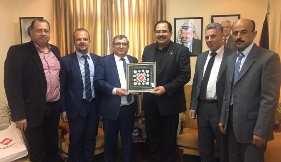 UFÜ'den Filistin'de önemli temaslar