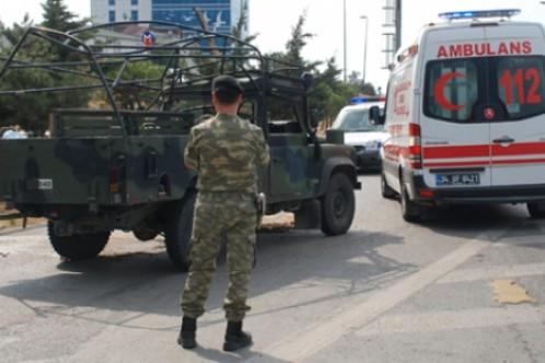 Askeri araçtaki asker hayatını kaybetti