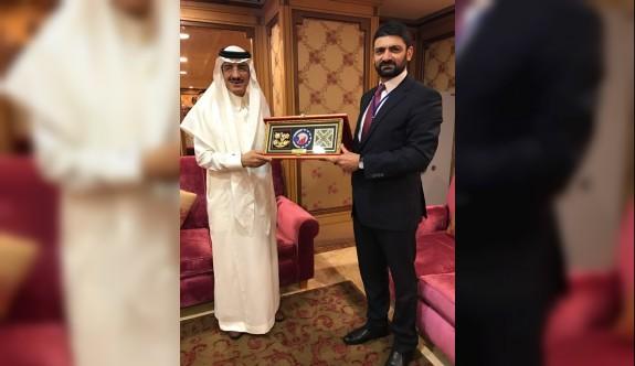 Atun, İslam Kalkınma bankası başkanı ile görüştü
