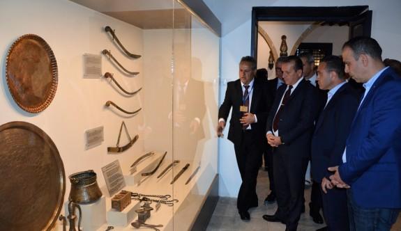 Derviş Paşa Konağı etnografya müzesi hizmete açıldı