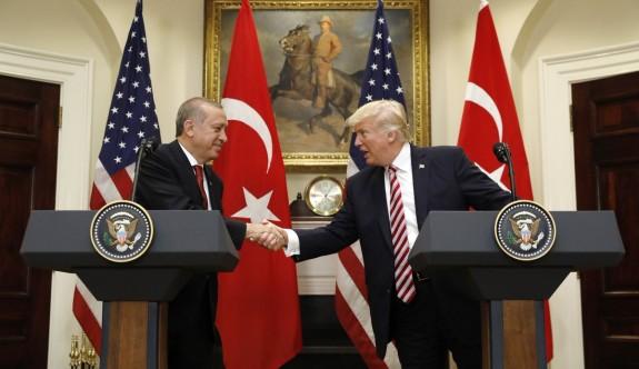 Erdoğan,Trump basın toplantısı