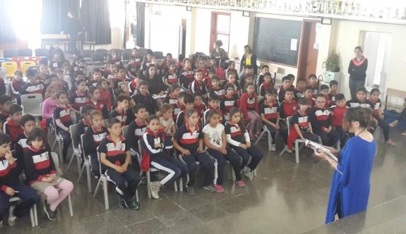 Gönyeli ilkokulunda ''Kıbrıs Hazineleri'' tanıtıldı