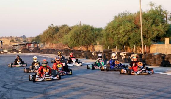 Karting yarışı ertelendi