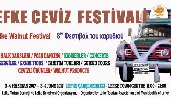 Lefke Ceviz Festivali, 3 – 4 Haziran'da