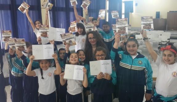 """Necati Taşkın İlkokulu'nda """"Kıbrıs Hazineleri"""" tanıtıldı"""