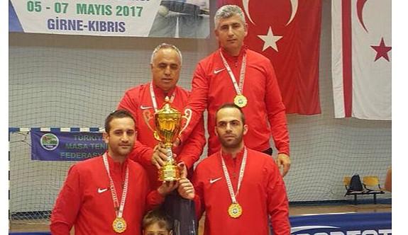 PGM Masa Tenisi Takımı, şampiyon