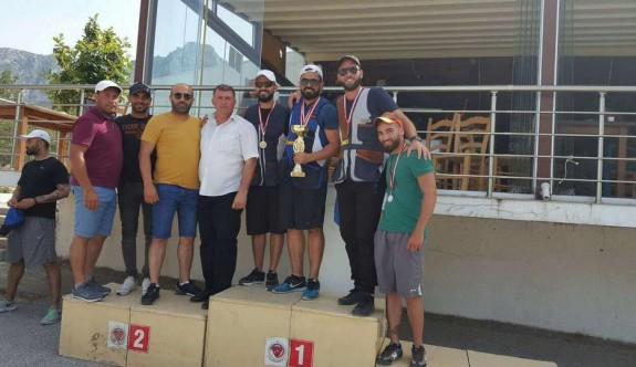 Skeet Kupası'nda Boğaztepe hedefe attı