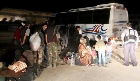 Suriye'de Berze'den tahliyeler sürüyor