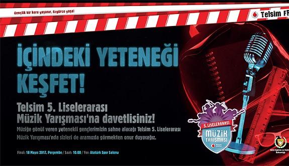 Telsim 5. Freezone Liselerarası Müzik Yarışması'nın Finali 18 Mayıs'ta
