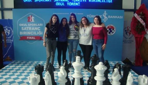 TMK'lı kızlar, Türkiye altıncısı