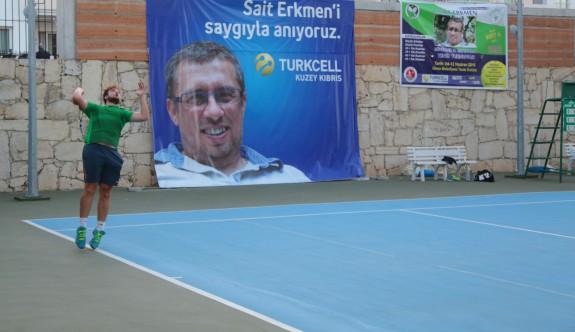 2. Sait Erkmen Senior Tenis Turnuvası başlıyor