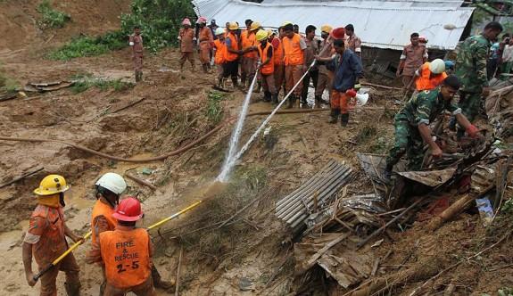 Bangladeş'te heyelan: 48 ölü