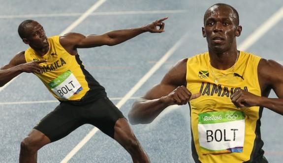 Bolt evinde pistlere veda etti