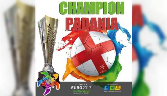 CONIFA Euro 2017 şampiyonu Padania