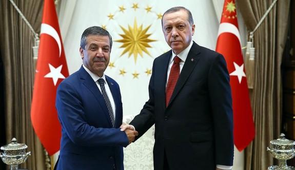 Ertuğruloğlu ile Erdoğan 45 dakika görüştü