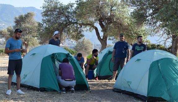 Geleceğin öğretmenleri kamp koşullarını deneyimledi