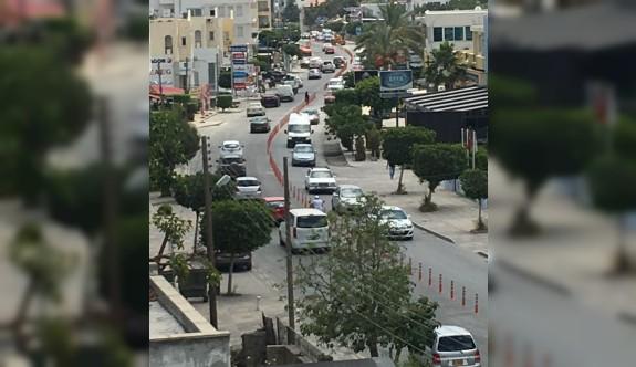 Girne'de trafik rahatlayacak