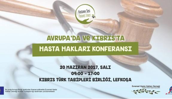 """""""Kıbrıs'ta insan hakları konferansı"""" yarın"""