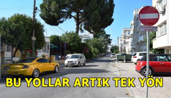 Lefkoşa'da 2 cadde artık tek yön