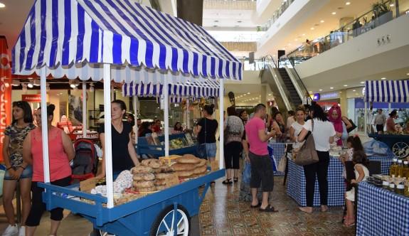 Mağusa'da el emeği pazarı kuruldu