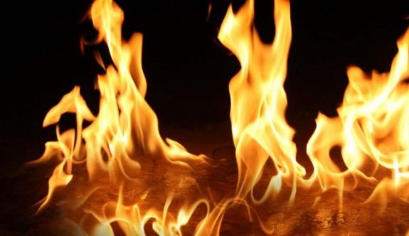 Mağusa ve İskele'de yangın