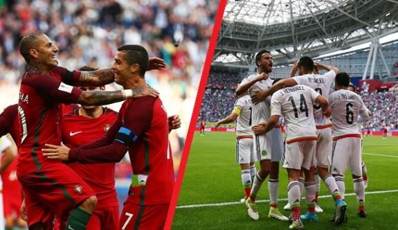 Portekiz, Meksika'dan kaçamadı 2-2