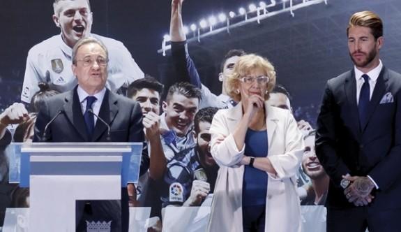 Real'de Perez yeniden başkan