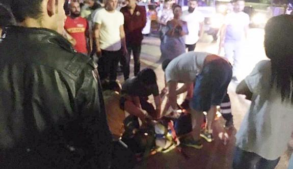Sibel Türker ağır yaralandı