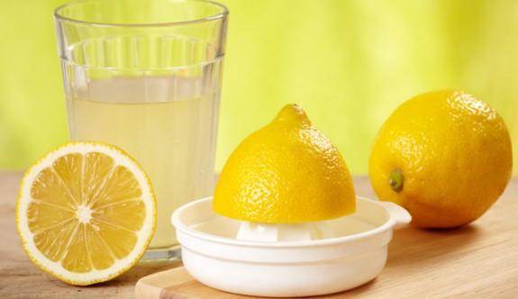 Sıcak limonlu suyun faydaları