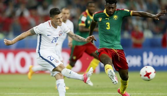 Şili, Kamerun'u Vidal ve Vargas'la geçti