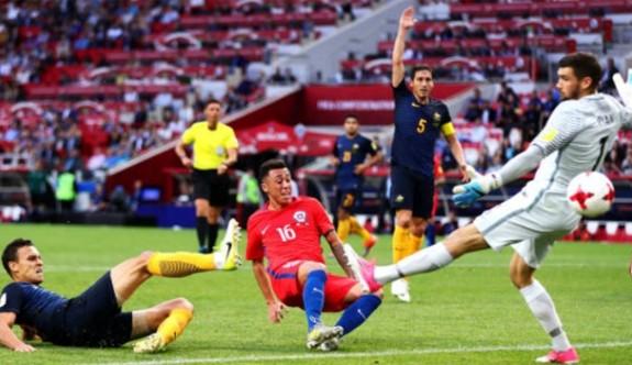 Şili yarı finalde