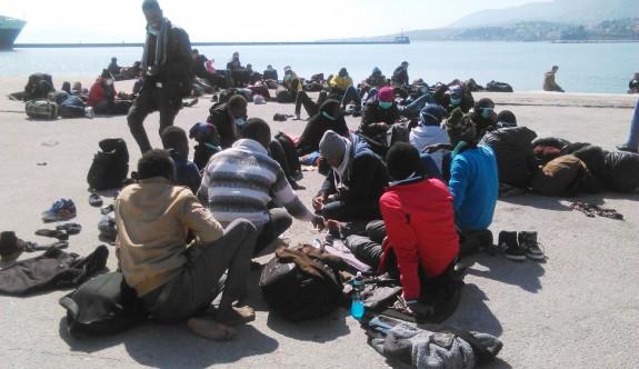 Ülkede 86 mülteci var